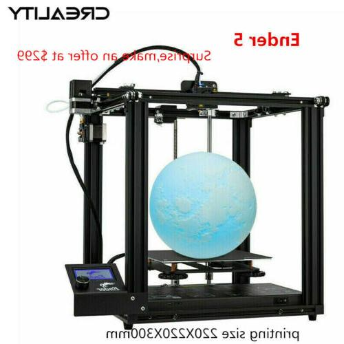 newest creality ender 5 3d printer 220x220x300mm