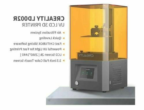 Newest Creality Photocuring 3D Printer Filtering