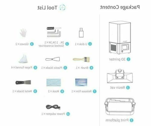 Newest Photocuring Resin Printer Air Filtering System