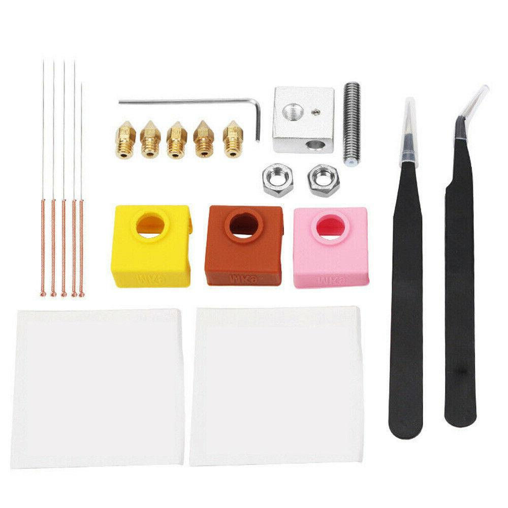 Nozzle +Cleaning Needle+Heating Block +Tools Kit For Crealit