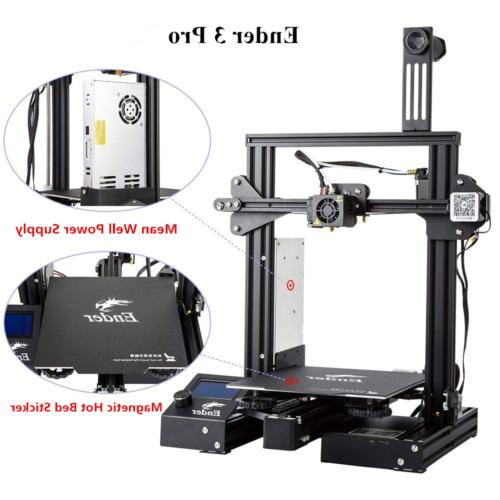 US Stock Creality Ender 3 Pro 3D Printer Thermal Runaway Pro