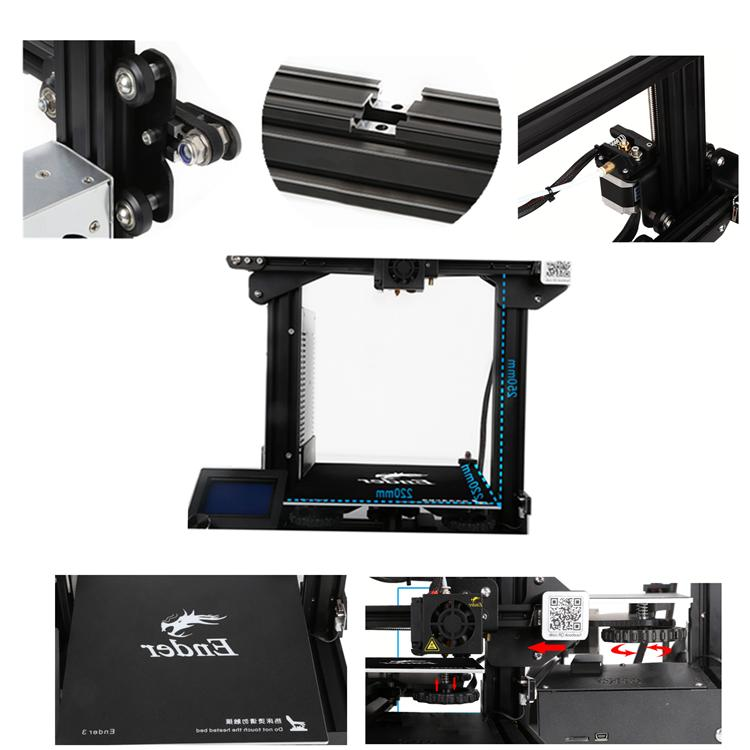 Official 3 /3 3D Printer Glass Bed