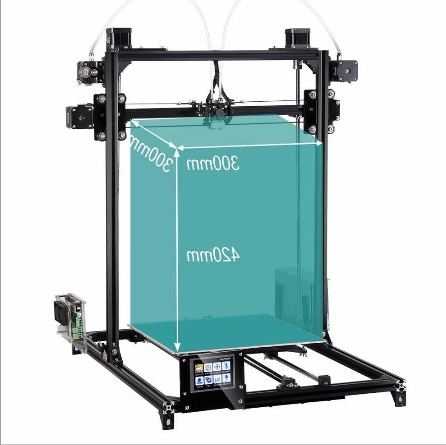 3D Printer 300*300*420mm Size LCD