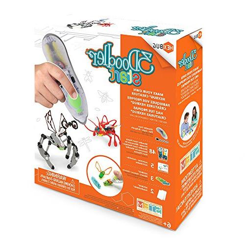 3Doodler Your Own Creature 3D Pen Set, Exclusive, with Additional Insectoid DoodleMold