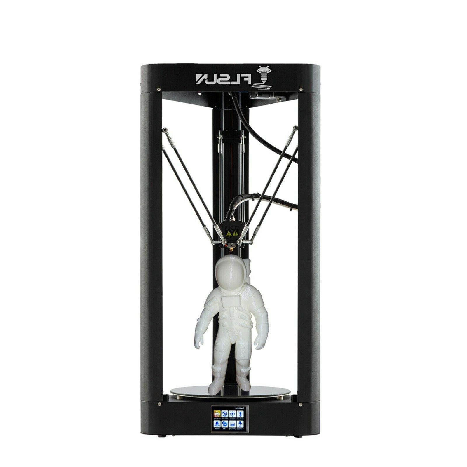 Flsun QQ-S-PRO 3D Printer Φ255*360mm print size Touch Scree