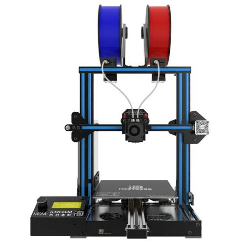 3D PrInter A10M Geeetech  2 in 1 out Extruder with Break-res