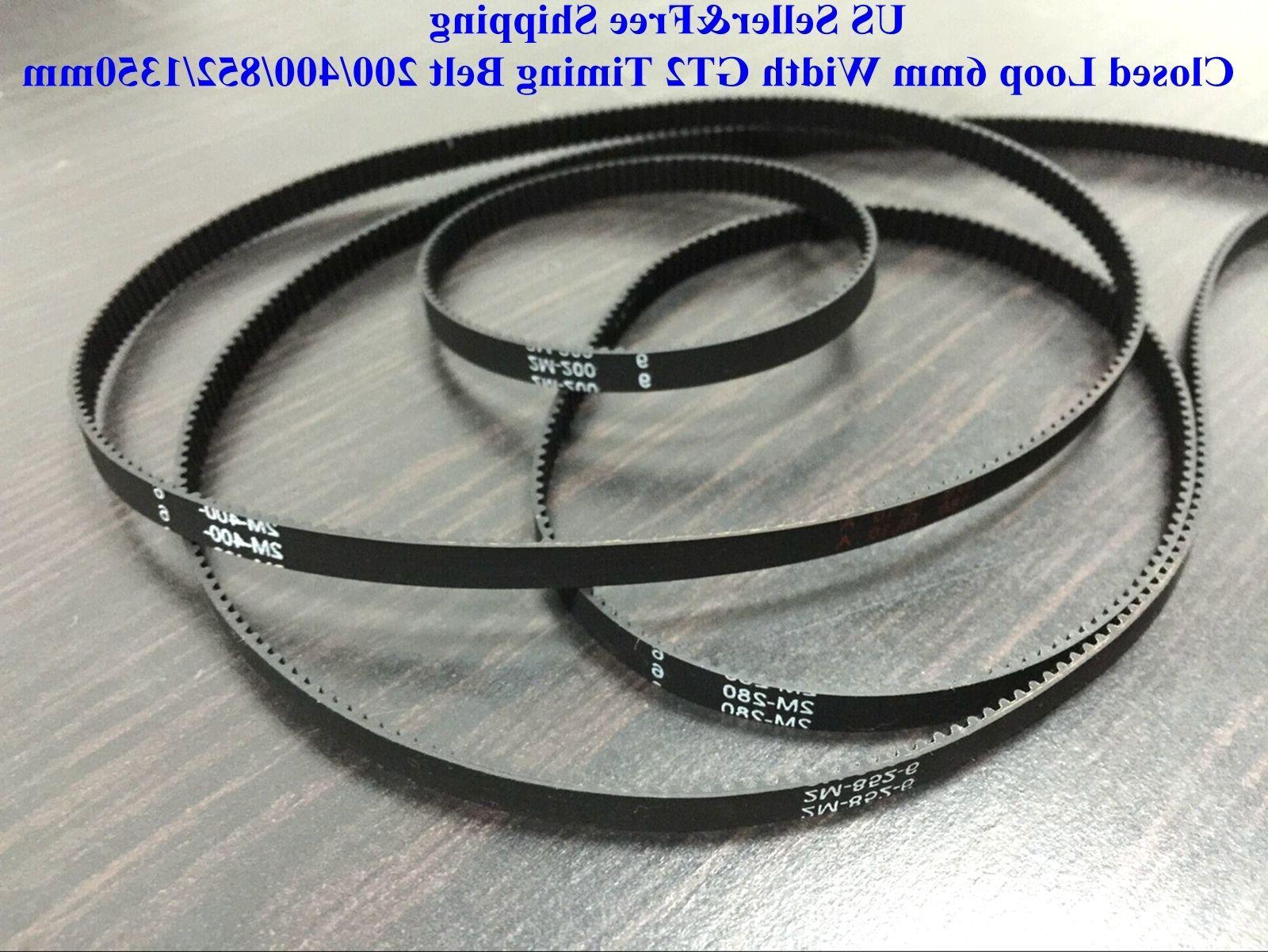us closed loop 6mm width gt2 timing