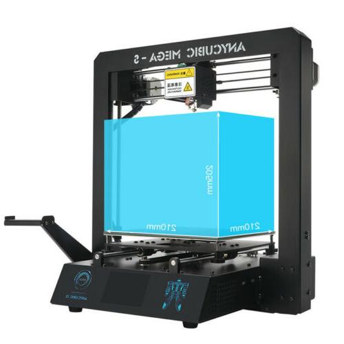 US ANYCUBIC Photon Mega-S 4Max Pro Chiron LCD FDM 3D Printers