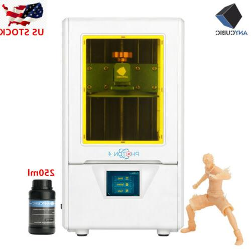 "US ANYCUBIC / Photon LCD 3D Printer Light-Curing 2.8"" TFT"