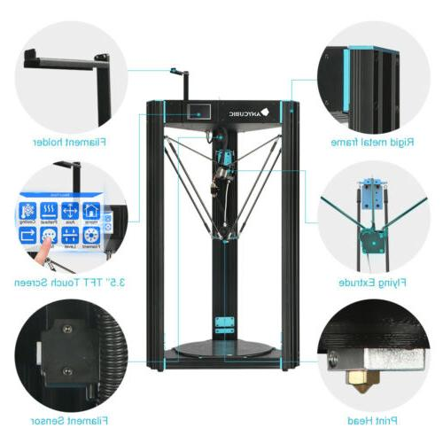 US ANYCUBIC Kossel Printer Pro Automatic Level PLA
