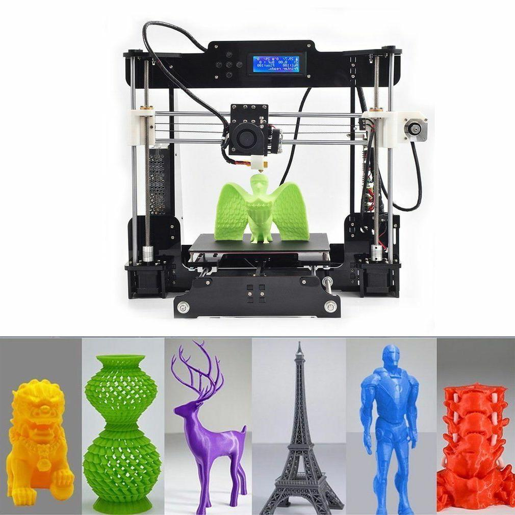 US Stock 3D Printer A8 Prusa i3 DIY kit Print Size 220x220x240mm