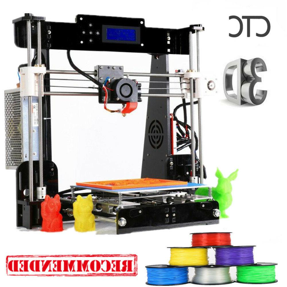 us stock 3d printer a8 prusa i3