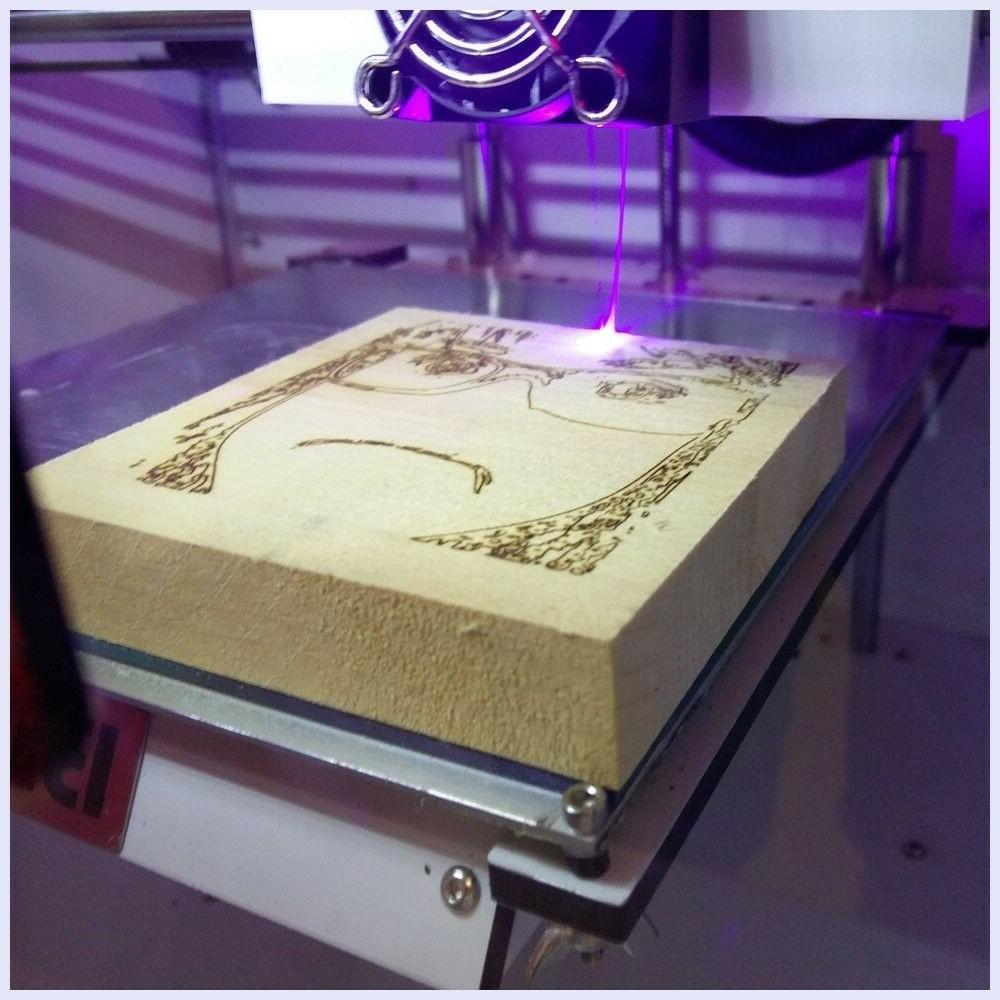WIFI Screen Printer Extruder Engraving Bed