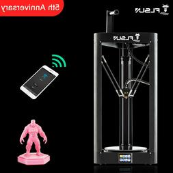 FLSUN Lattice glass platform QQ-S Delta 3D Printer Auto-leve