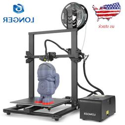 Longer LK1 3D Printer 300x300x400mm Large Size PLA Filament