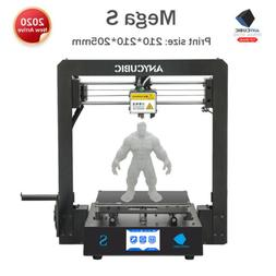 mega s fdm 3d printer diy kit