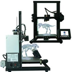 mini 3d printer touch screen with hotbed