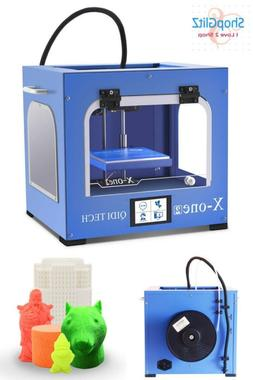 Qidi Technology New Generation 3D Printer:X-One2,Metal Frame