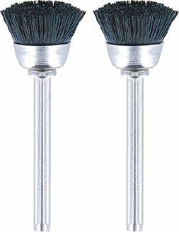 Dremel 404-02 Nylon Bristle Brushes , 1/2""