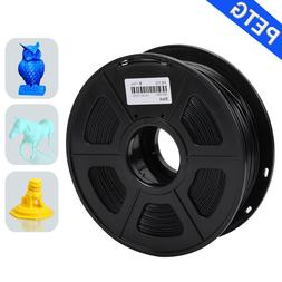 SUNLU PETG 3D Printer Filament 1.75mm 1KG/2.2LB Spool Black