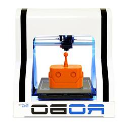 "ROBO 3D R1 Fully Assembled 3D Printer, 8"" x 9"" x 10"" Maximum"