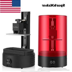 SparkMaker SLA 3D Printer UV Resin Light-Curing DIY Desktop