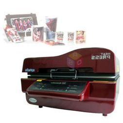 ST3042 3D Sublimation Vacuum Heat Transfer Press Printer Mac
