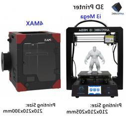 US Anycubic 3D Printer i3 Mega/4MAX DIY Kit High Precision L
