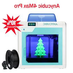 US ANYCUBIC 4Max Pro 3D Printer Desktop High Precision Large