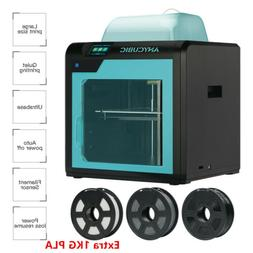 US ANYCUBIC 4MAX Pro FDM Home 3D Printer Desktop with Auto P