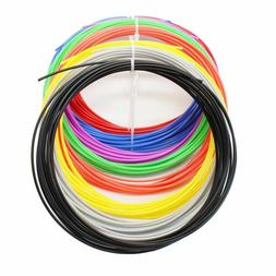 US Newest 20 Colors ABS Print Filament 1.75MM 3D Print Ink F