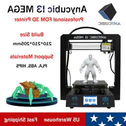 US ANYCUBIC I3 Mega 3D Printer Full Metal Frame FDM Ultrabas