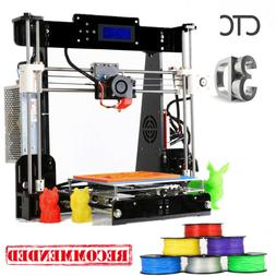 US Stock 3D Printer A8 Prusa i3 Upgrade DIY kit Print Size 2