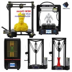US Stock ANYCUBIC 3D Printers LCD Photon / i3 Mega / Delta K