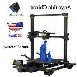 US Stock ANYCUBIC Chiron 3D Printer Heat Bed Auto-Lleveling