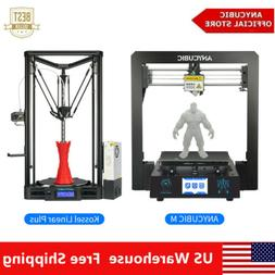 US STOCK ANYCUBIC i3 Mega | Kossel 3D Printers Upgrade Kit L