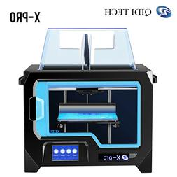 X-Pro, QIDI TECHNOLOGY 3D Printer, Dual Extruder, 4.3 inch T