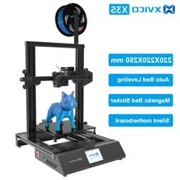 Xvico 3D Printer DIY 3D Printer Kit 220mm x 220mm x 240mm De