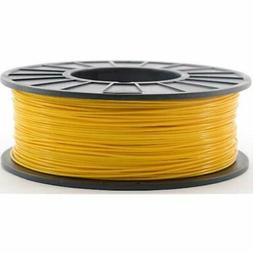 Yellow 1.75mm 1kg PLA Filament For 3D Printers Industrial ""